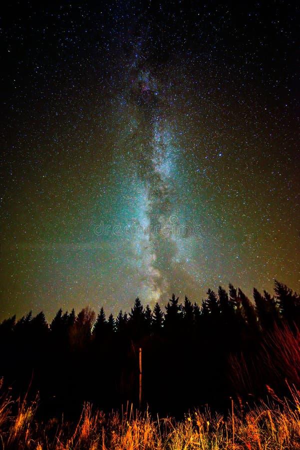 Melkweg stock foto