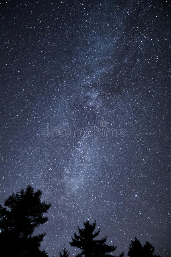 Melkweg stock afbeeldingen