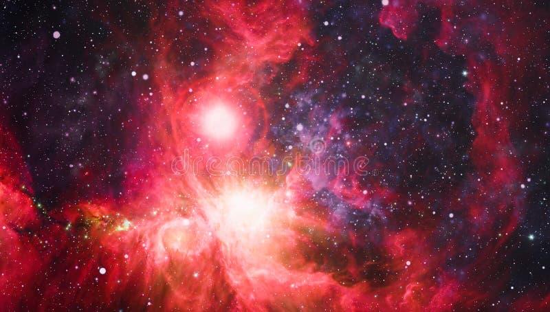 Melkweg - Elementen van dit die Beeld door NASA wordt geleverd royalty-vrije stock foto