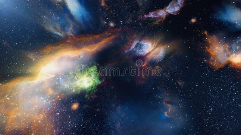 In Melkweg 02 stock afbeelding