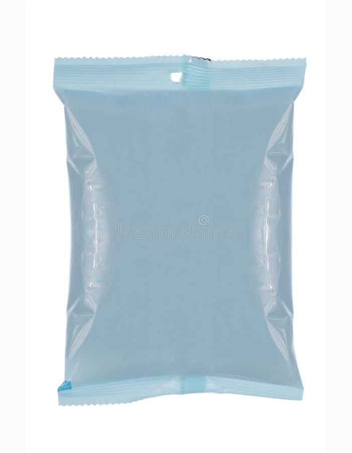 mellanmål för påsepackeplast- royaltyfria bilder