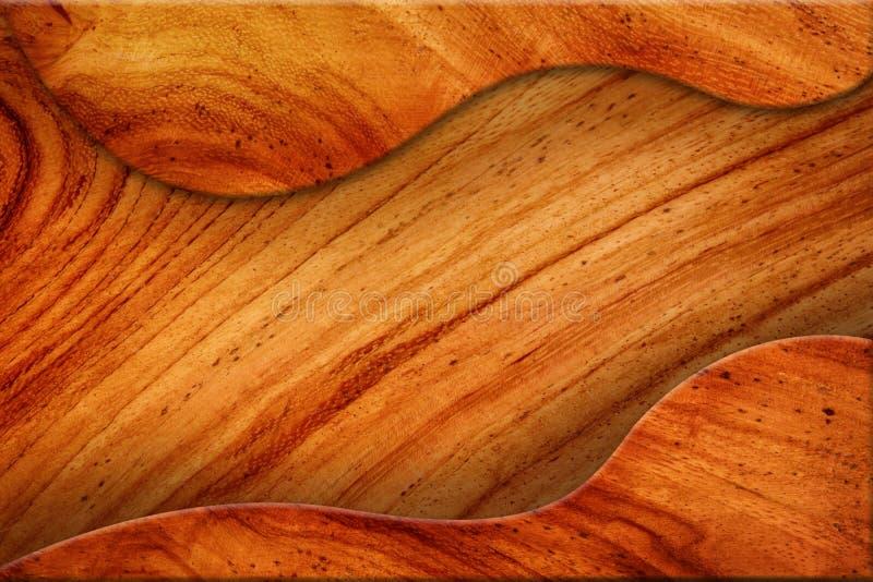 Mellanrum Av Brun Wood Textur. Royaltyfria Bilder