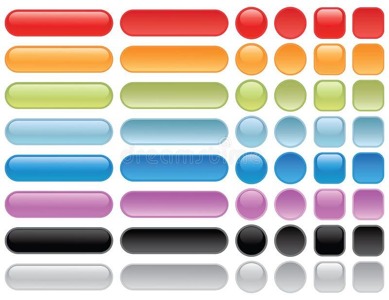 mellanrumet buttons rengöringsduk arkivbild