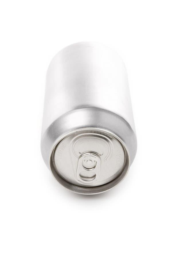 mellanrumet kan silver sodavatten royaltyfria foton