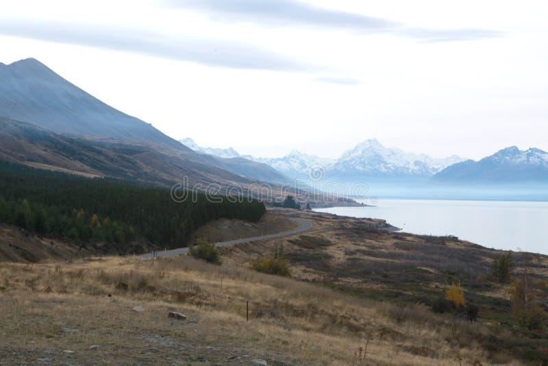 Mellersta jord i Nya Zeeland royaltyfria foton