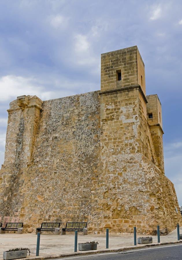 Mellieha fjärd - Malta royaltyfri foto