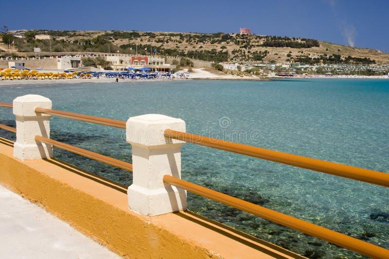 Download Melliera Bay - Malta stock image. Image of seaside, melliera - 22572269