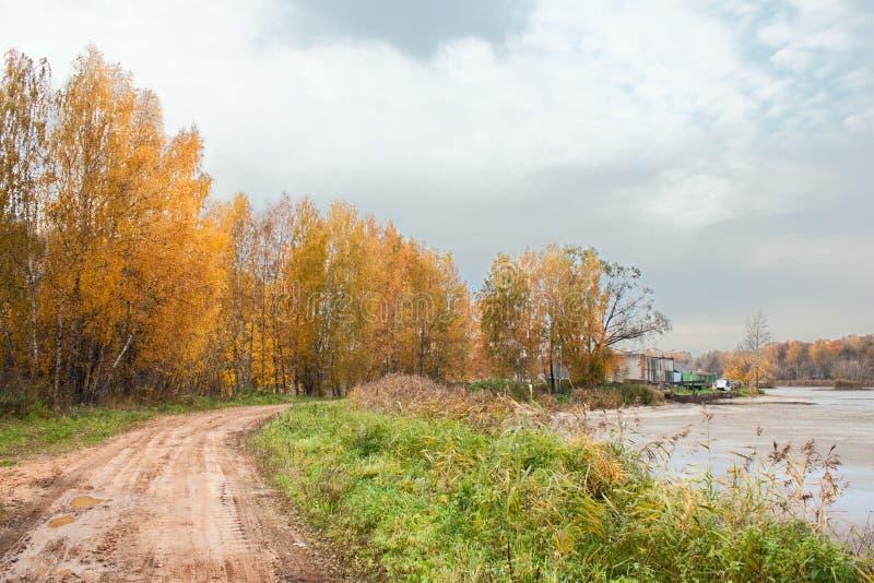 Mellow autumn stock photo
