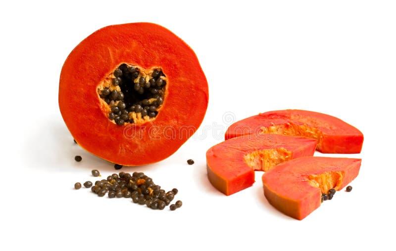 Download Mellow Papaya Stock Image - Image: 13373921