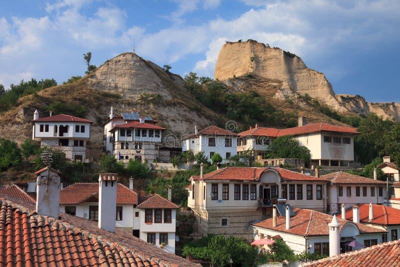Download Melnik Houses stock image. Image of landmark, landscape - 26693551