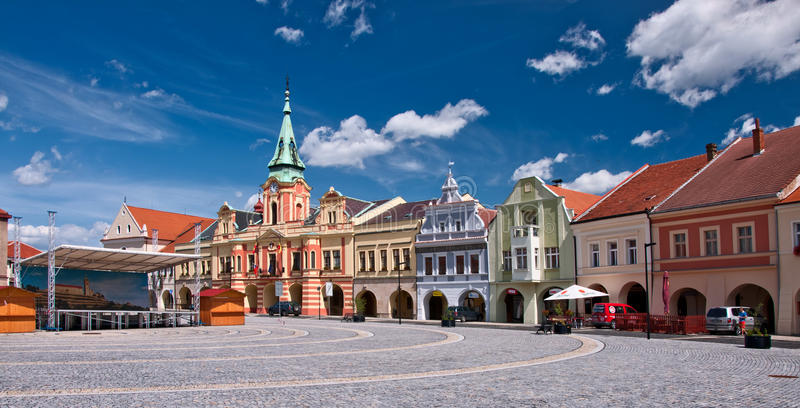 Melnik square royalty free stock photos