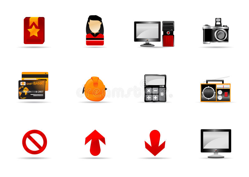 Download Melo Icon Set. Website And Internet Icon #4 Royalty Free Stock Images - Image: 10045109