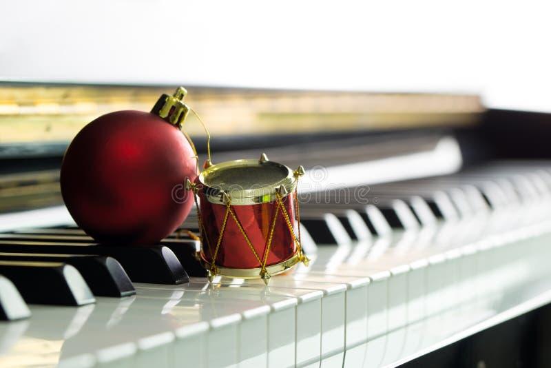 Melodía de la Navidad fotografía de archivo libre de regalías