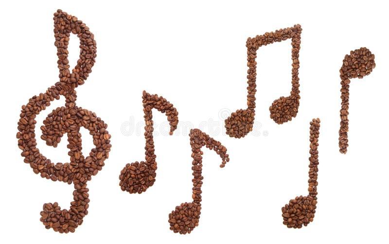 Melodia do café foto de stock royalty free