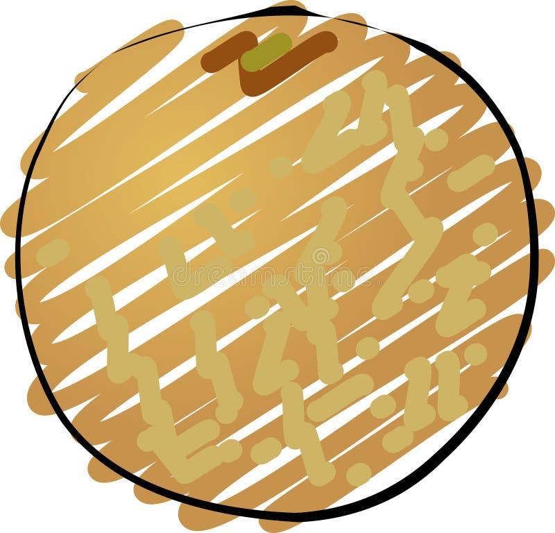 Meloen royalty-vrije illustratie