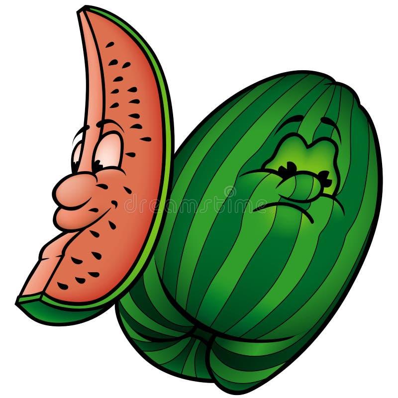 Meloen stock illustratie