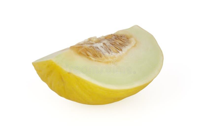 Melon d'isolement sur le blanc photos libres de droits