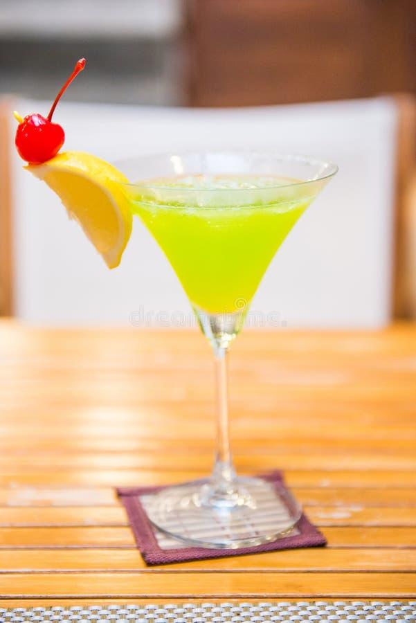 Melon Daiquiri popular cocktail. Drink stock photography