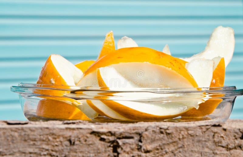 Melon de miellée juteux photographie stock libre de droits