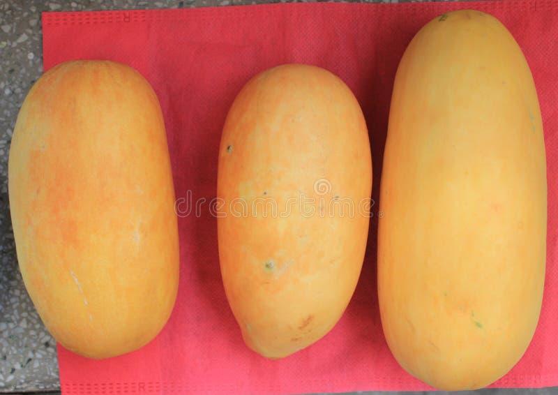 Melon instantané photographie stock