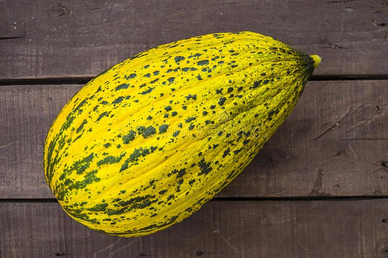 Melon, mature melon, mature melon pictures on wooden floor, royalty free stock photos