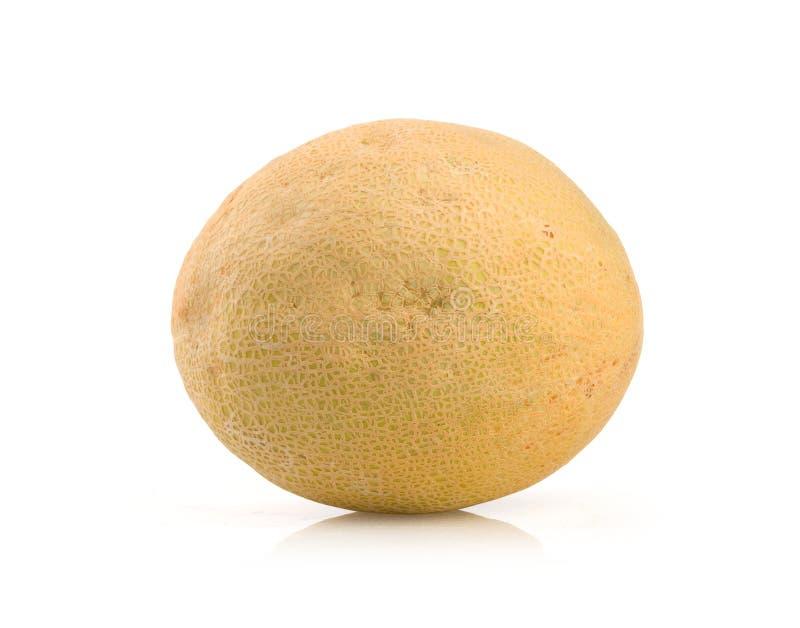 Melon. Ripe melon isolated on white background royalty free stock photo
