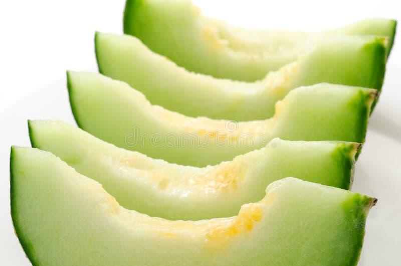 Melon soigné disposé photo libre de droits