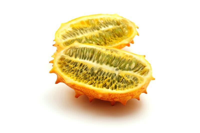 Melone cornuto fotografia stock