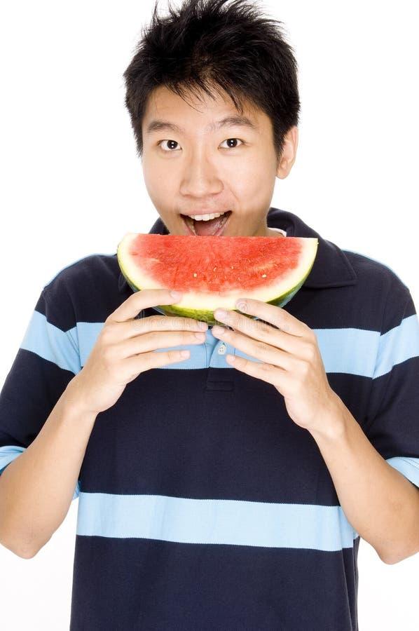 Melone mangiatore di uomini immagini stock libere da diritti