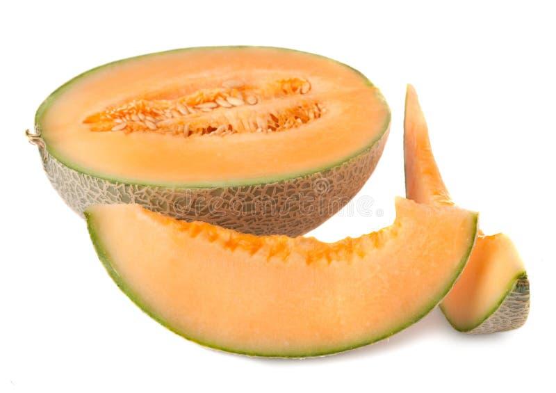 Melone maturo del cantalupo fotografia stock