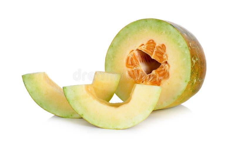Download Melone Tailandese Del Cantalupo Isolato Sui Precedenti Bianchi Immagine Stock - Immagine di contesto, pasto: 55358705