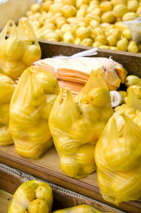 Melones coreanos foto de archivo libre de regalías