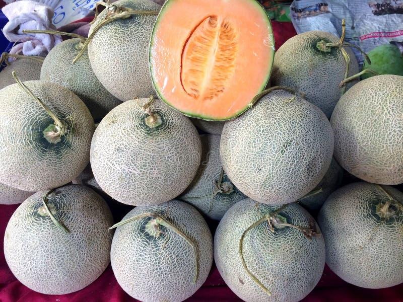 Melonfrukt royaltyfria foton