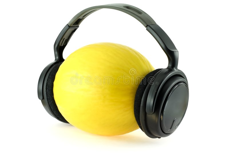 melonmusik arkivfoton