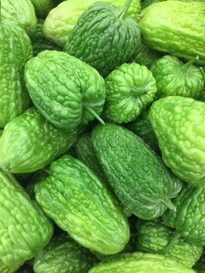 Melons amers images stock