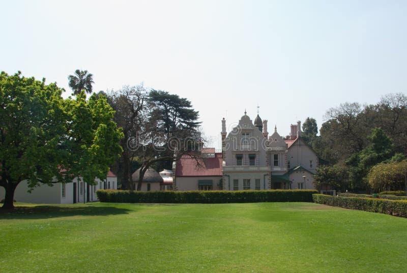 Melrose museum garden royalty free stock photo