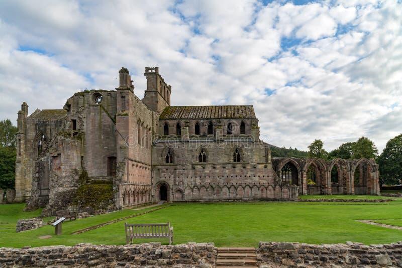 Melrose opactwo, Szkocja obraz royalty free