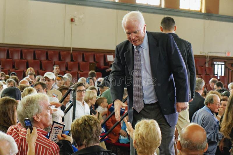 Senator John McCain royaltyfria foton