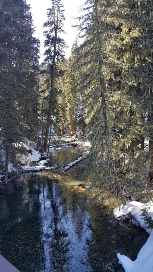 Melt зимы стоковое изображение