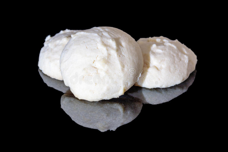 Melt Away Gem Cookies royalty free stock photo