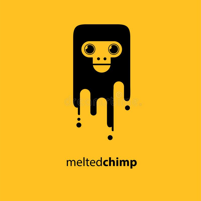 Free Melted Chimp Vector Illustration Symbol Royalty Free Stock Photography - 198979397