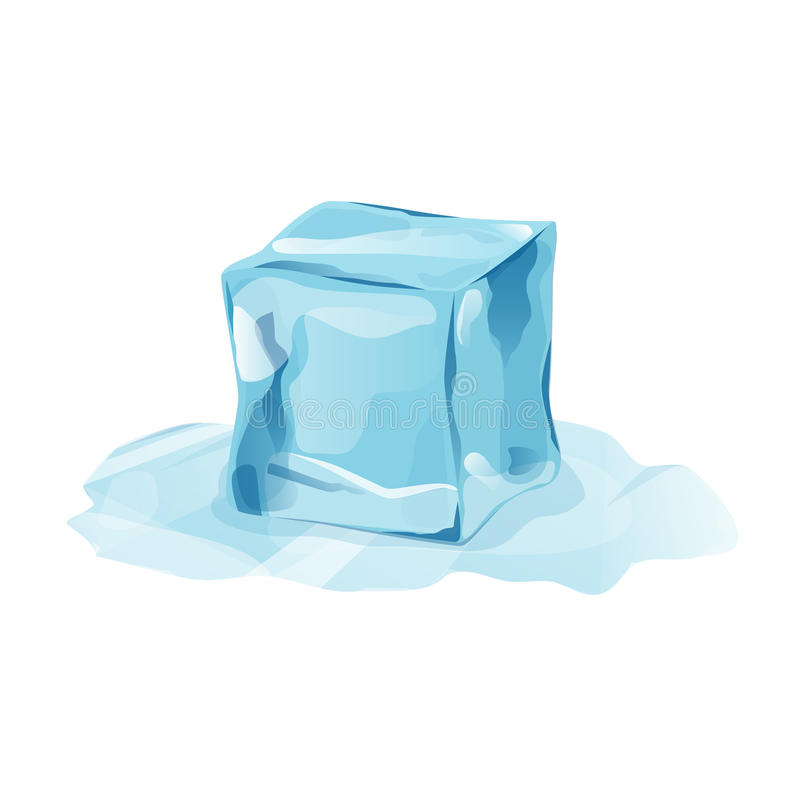 melted ice cube with transparency stock vector illustration of gems frost 98431528 melted ice cube with transparency stock