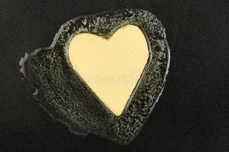 Melting butter royalty free stock photography