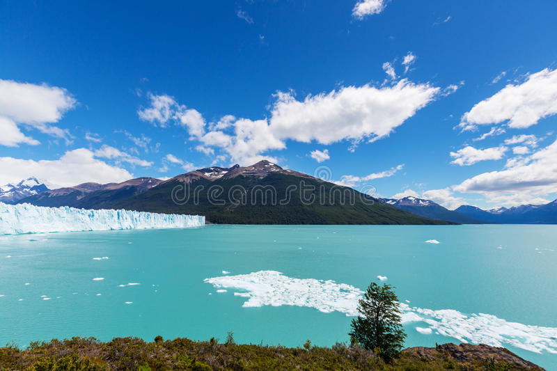Melting Glacier in Argentina stock photos