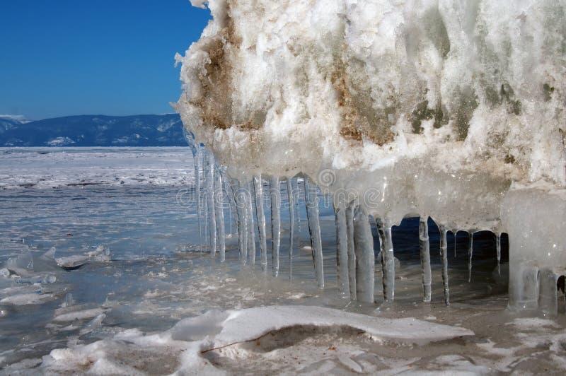 Melting glaciers. stock photos
