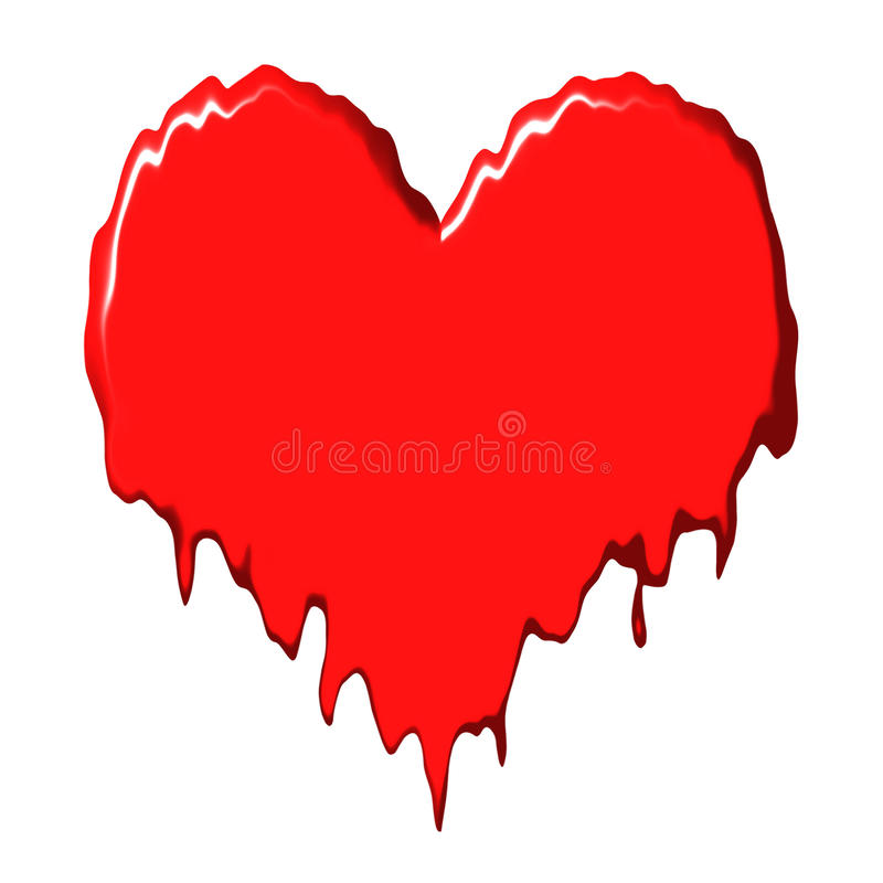 Free Melting Heart Stock Images - 10939984