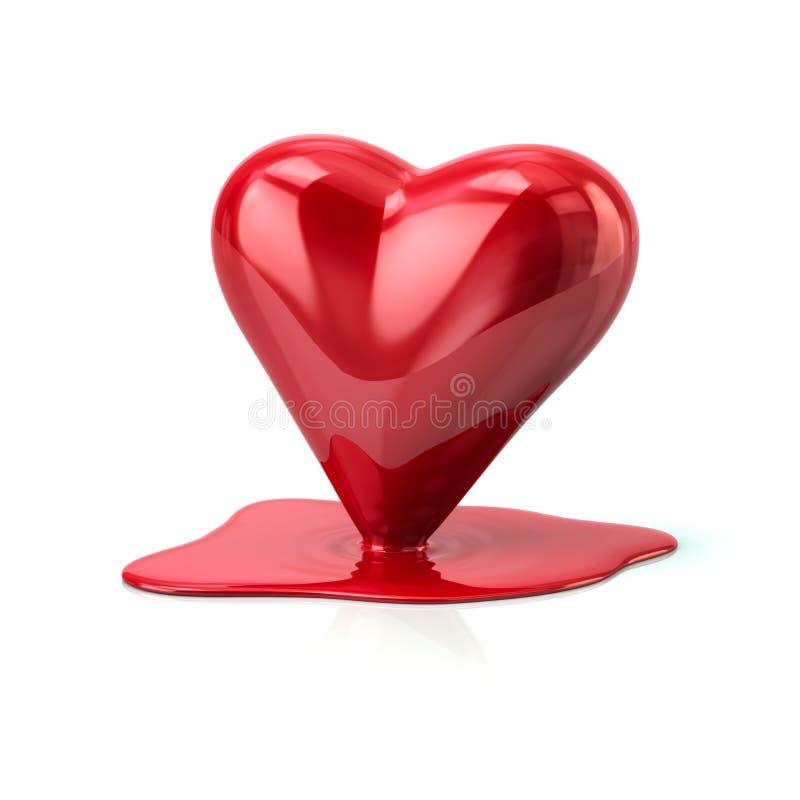 Free Melting Heart Stock Photo - 87709540
