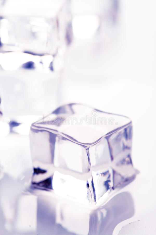 Download Melting ice cube stock image. Image of closeup, solid - 15725513