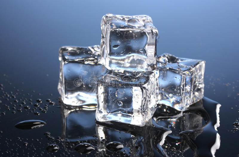 Download Melting ice cubes stock photo. Image of copy, glass, color - 22935584