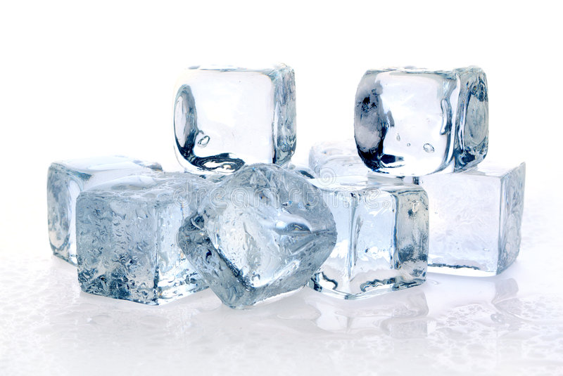 Download Melting ice cubes stock photo. Image of chilled, alcohol - 2855588